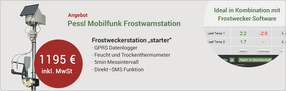 Angebot Frostwarnstation