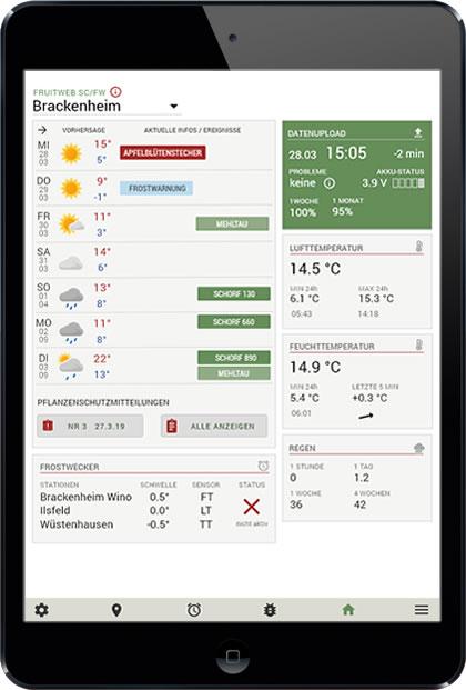fruitweb App Start